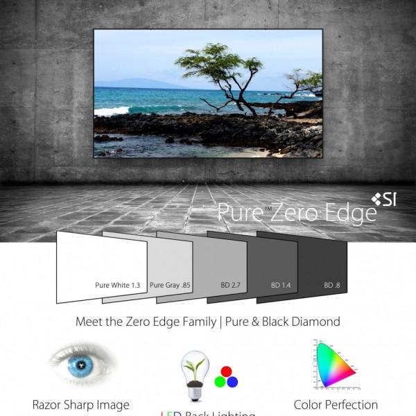 screen innovation Pure-Zero-Edge