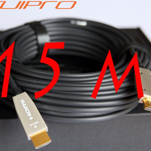 4kaudio fibra 15m